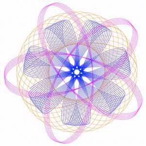 Example of Spirograph design