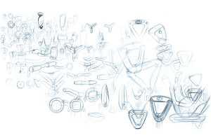 Design sketches for ASHA medical tester