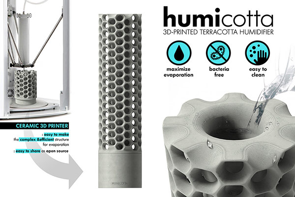 Humicotta humidifier and air filter