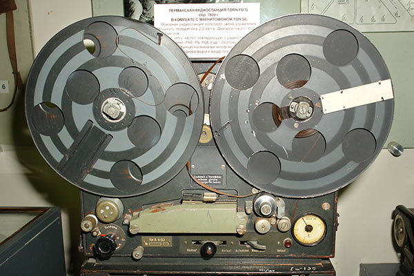 Example of German magnetophone from WWII
