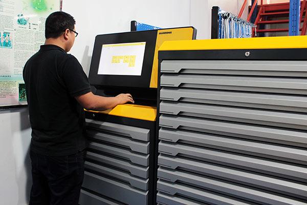 Guhring tool vending machine at Star Rapid