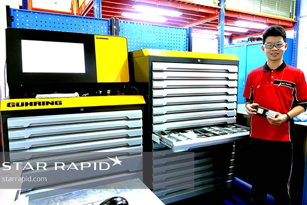 Star Rapid's new Guhring tool vending machine