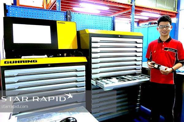 Star Rapid's new Guhring tool vending machine