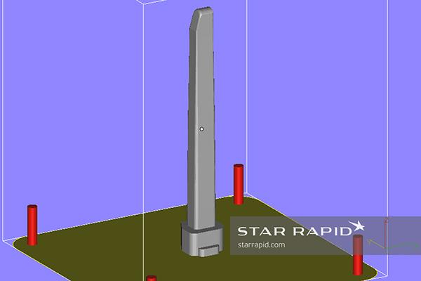 Star Rapid 3D printed insert CAD file