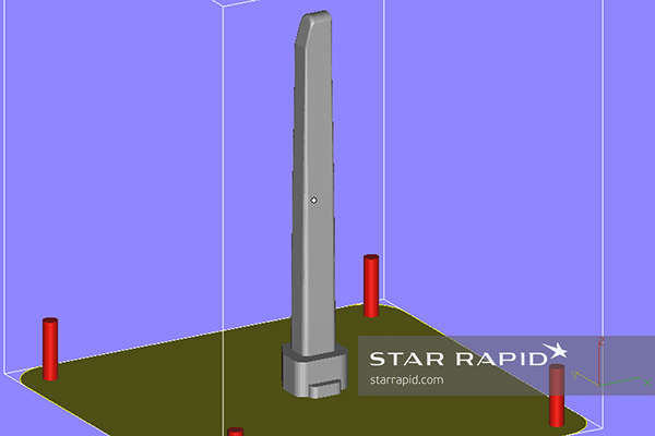 Star Rapid 3D printed insert CAD file
