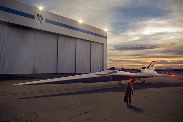 Rendering of the NASA X-plane concept