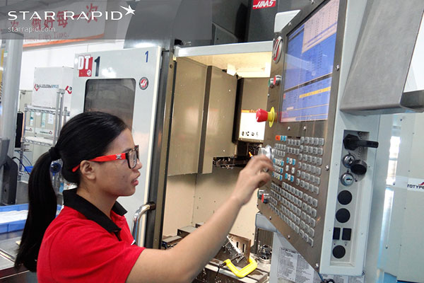 Star Rapid machinist programming CNC controller