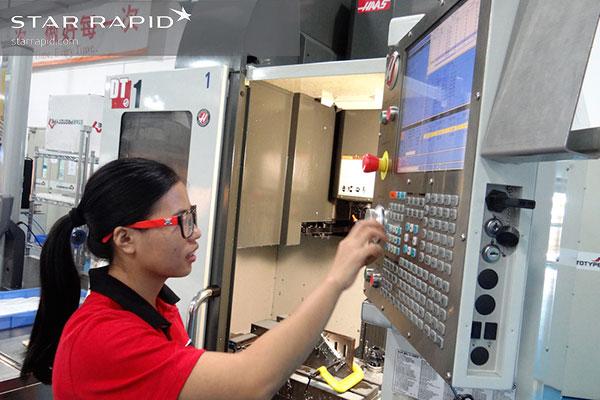 Star Rapid machinist programming CNC controller