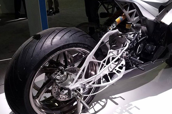 Dreamcatcher swingarm for Lightning motorcycles
