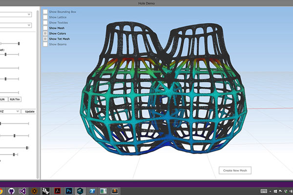 Example of free design software from nTopology