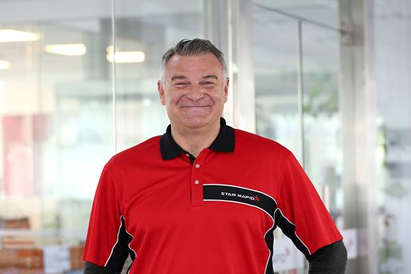 Star Rapid's new CEO Mr. David Hunter