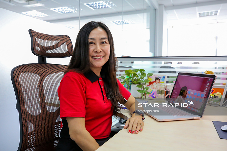 Star Rapid Director of Finance