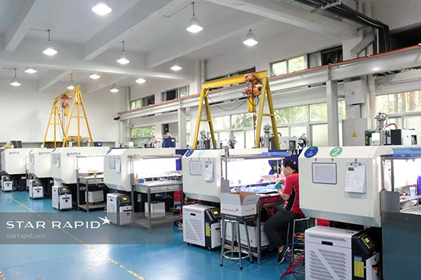 Image of Plastic Injection Molding Machines at Star Rapid
