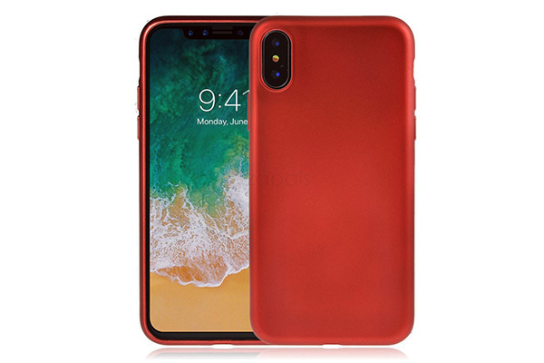 Red TPU phone case