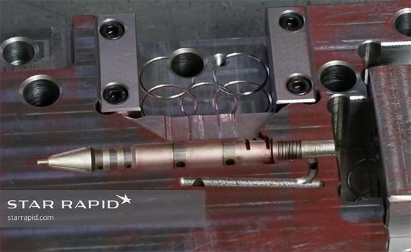 Plastic injection mold tool at Star Rapid