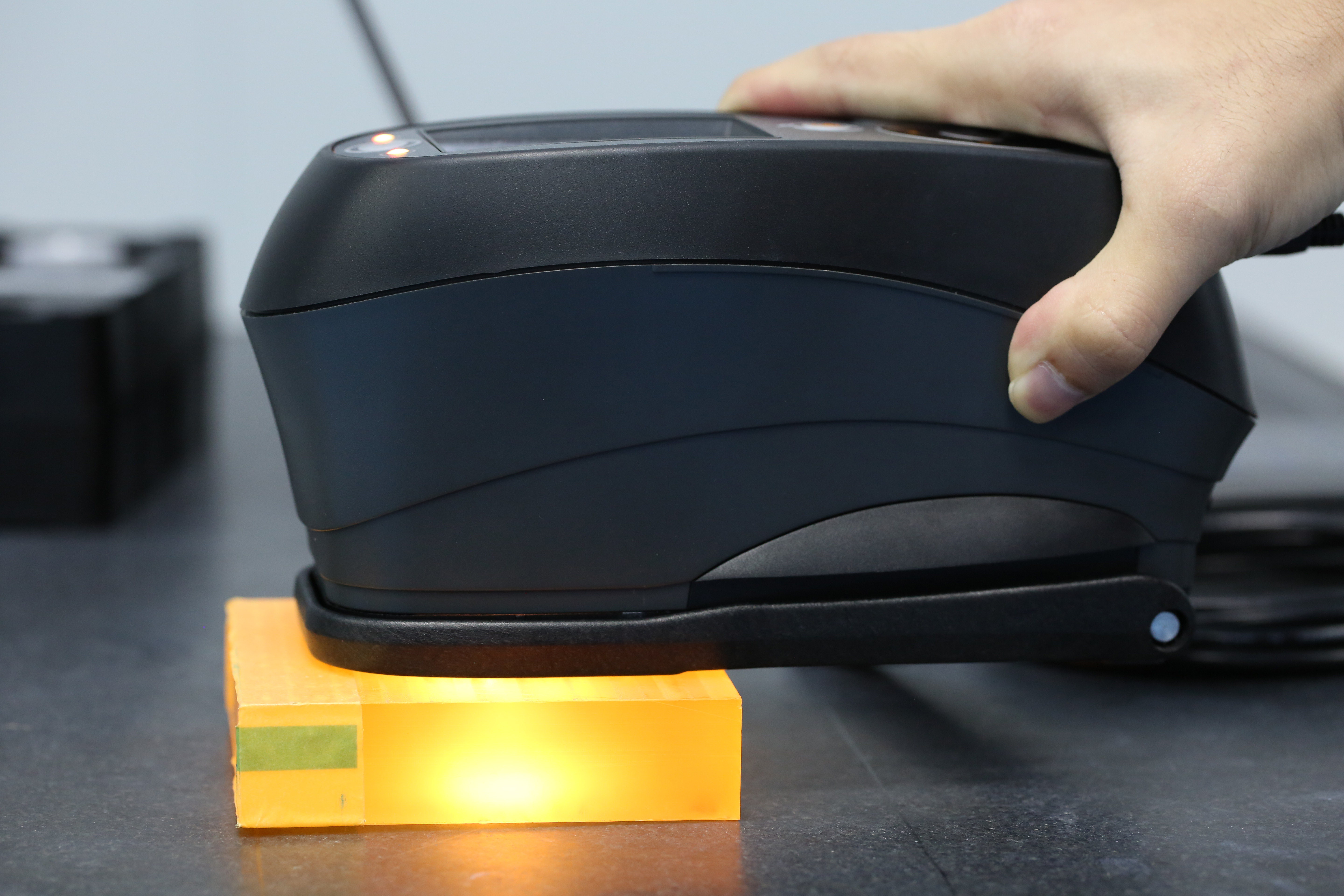 X-Rite color spectrophotometer in Star Rapid's QC lab