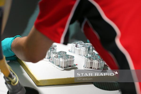 Sandblasting at Star Rapid for MicaSense