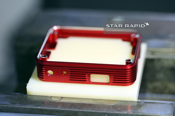 Middle section, MicaSense Altum, anodized, at Star Rapid
