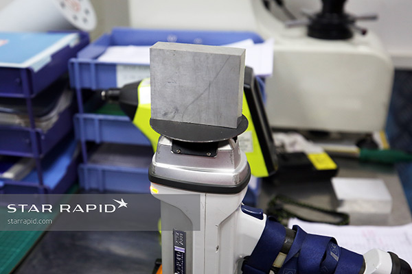 Oxford Instruments XRF being used at Star Rapid