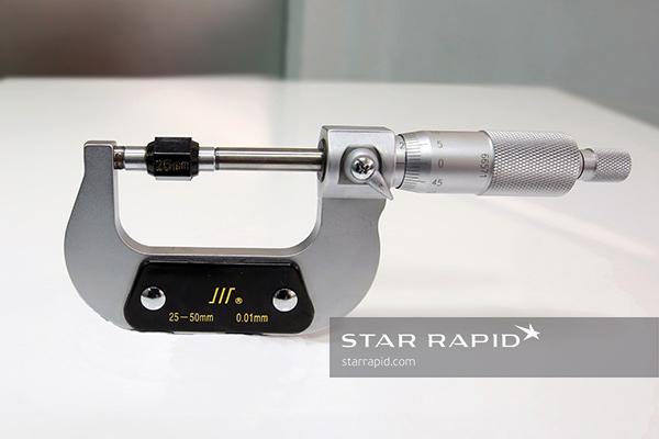 Micrometer at Star Rapid