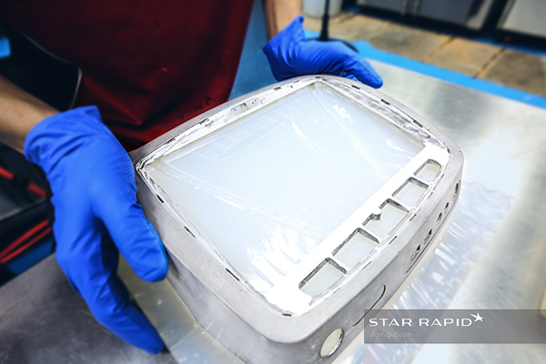 Secondary mold for over molding