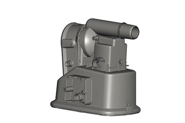 Nedap CAD file image, Star Rapid product development
