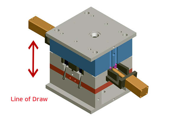 Mold assembly CAD image from Star Rapid