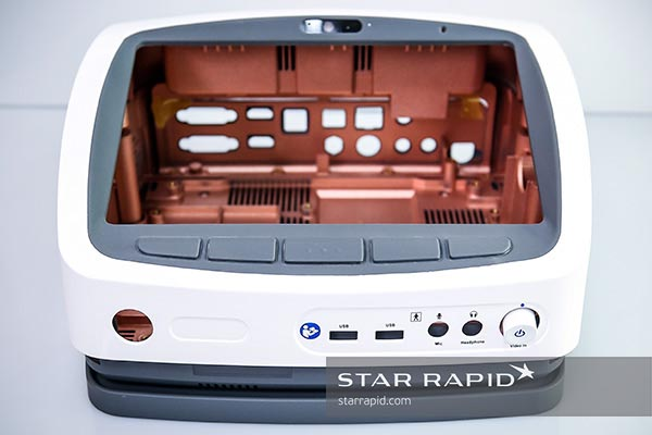 Overmolded prototype at Star Rapid