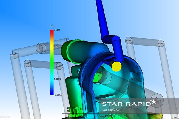 Nedap case study, gate and runner cad image