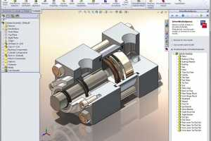 CAD image detail from Solidworks