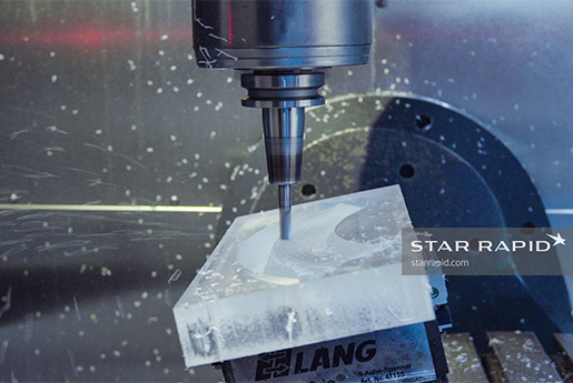 CNC machined rotor at Star Rapid
