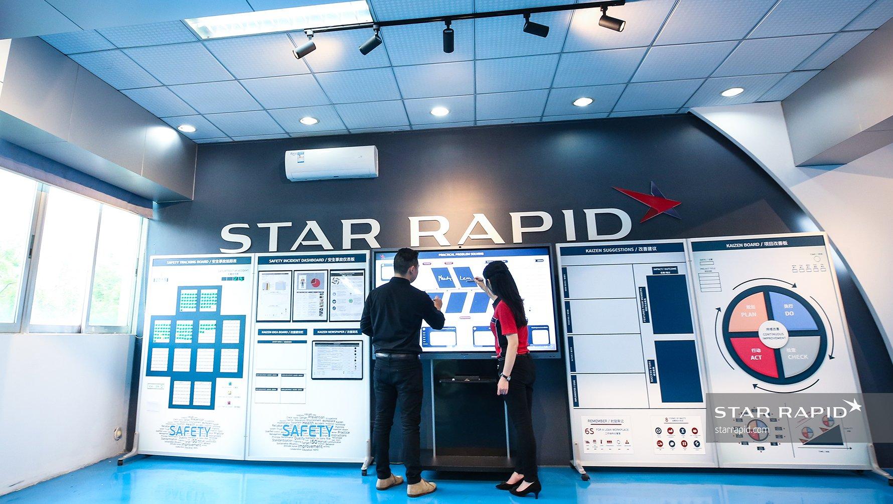 Star Rapid Manufacturing Safety Dashboard