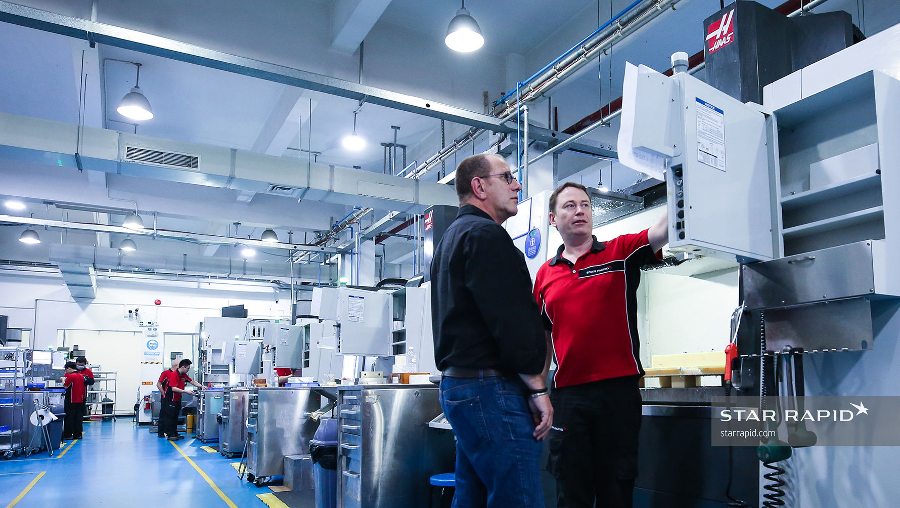Star Rapid Manufacturing Facilities in Zhongshan