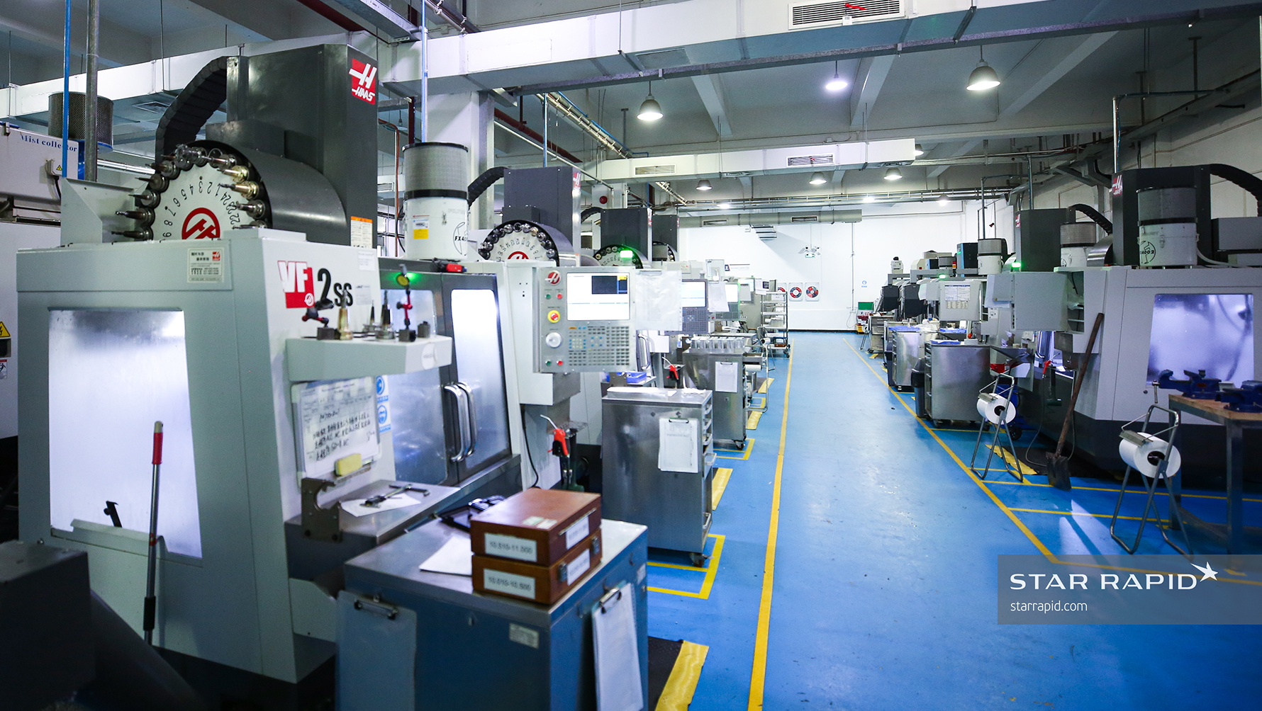 Star Rapid Manufacturing Equipment at Facility in Zhongshan