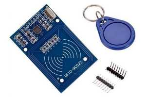 RFID chip built for an Arduino controller