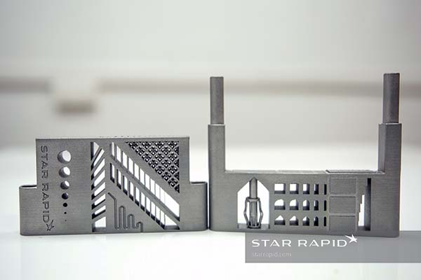 3D metal printed design model from Star Rapid