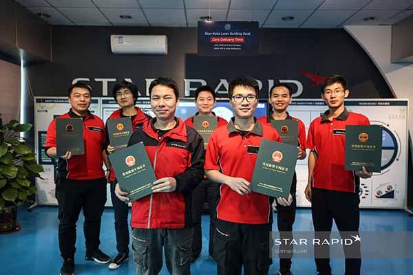 Star Rapid patent holders