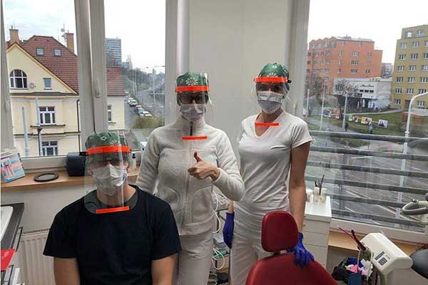Prusa Research face shields