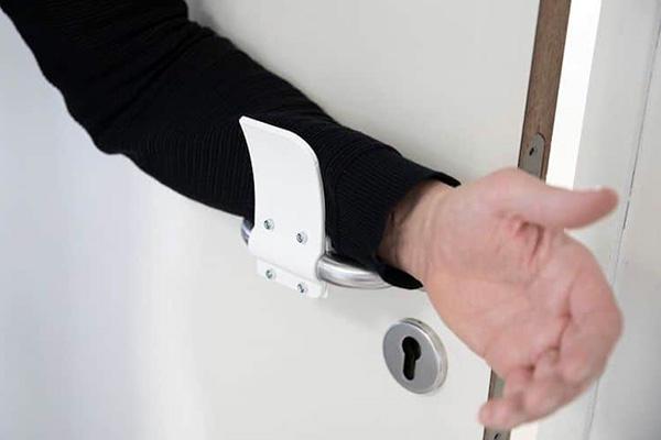 Materialise hands-free door opener