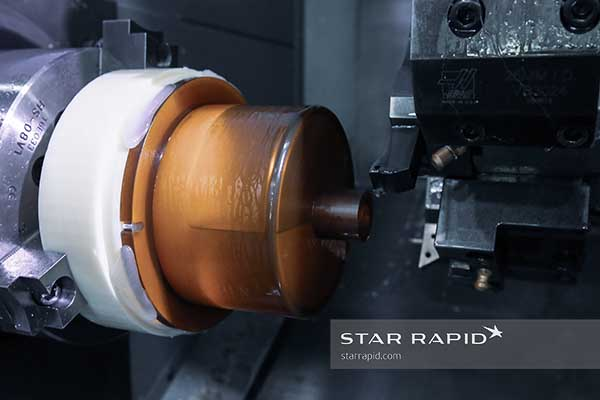 Finish turning of Biorep part at Star Rapid