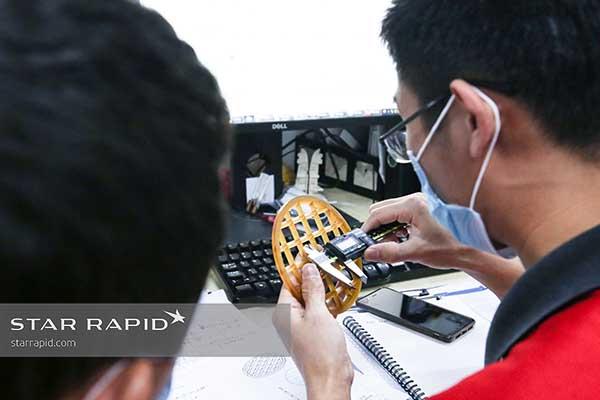 Measuring cell separator screen
