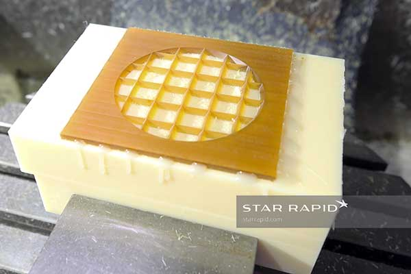 Cell separator being milled at Star Rapid