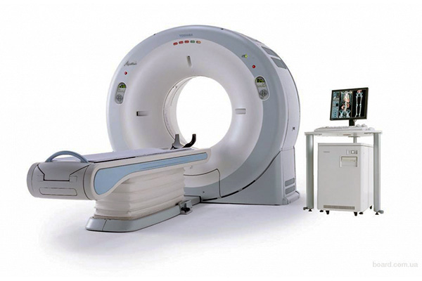 GE Optima CAT scan