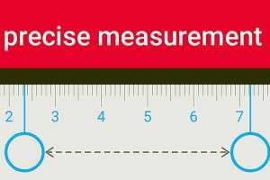 Measurement of millimeter