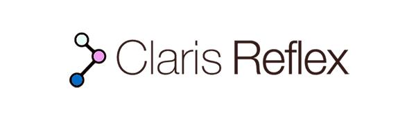 Claris Reflex Logo